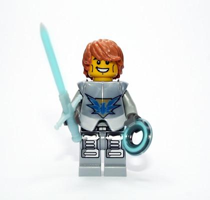 Custom minifig LU Sentinel Knight