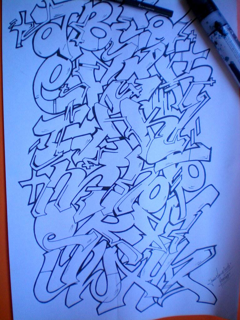 abecedario de graffiti parte 2