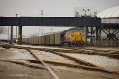 Maze of Trackage (Jim Guest) Tags: up st louis missouri coal mrs 6690