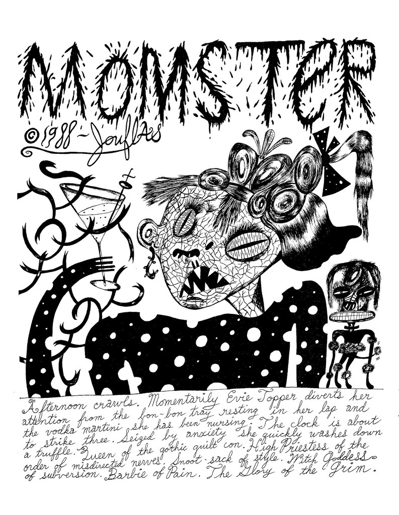 Ted Jouflas - Momster (Page 1) 1988