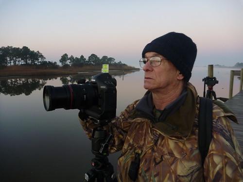 John Spohrer, early morning Apalachicola