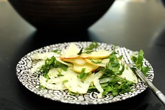 Apple Fennel Salad (sassyradish) Tags: cooking apple salad vegan vegetarian kosher fennel passover sassyradish arugula glutenfree parve