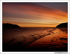 Dawn ripples (ccgd) Tags: orange sunrise scotland highlands cromarty sutor gloaming
