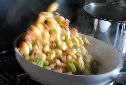 gnocchi polpo e broccoli 013