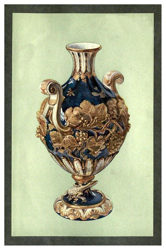 013-Florero de un conjunto de tres, Chelsea, alrededor de 1760-A book of porcelain…1910-William Gibs