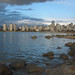 English Bay depuis Kitsilano Beach