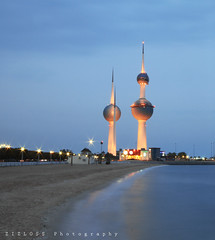 Kuwait Towers (ZiZLoSs) Tags: canon eos towers 7d kuwait aziz sigma1020mm abdulaziz  zizloss  3aziz canoneos7d almanie abdulazizalmanie httpzizlosscom