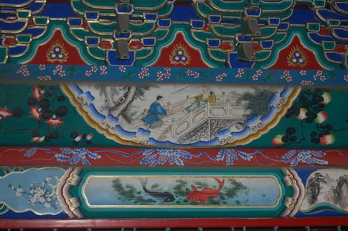 Detail im Wandelgang