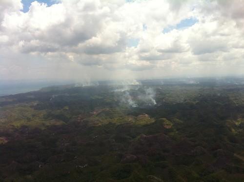 Los Haitises: La Tala Indiscriminada y La Produccion de Carbon Acaban con El Parque Nacional