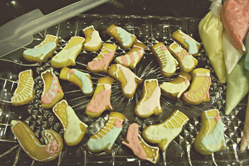 Shoes Cookies