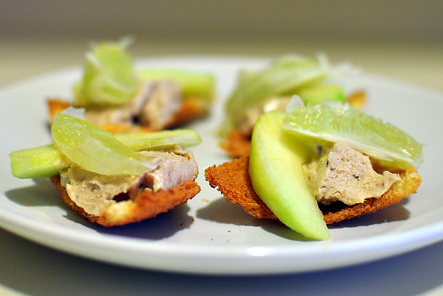 Smoked Mackerel Pate with Apple and Lime