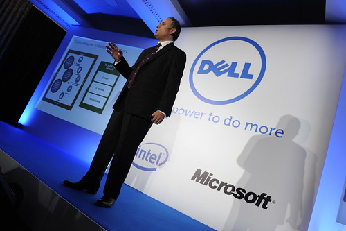 Brian Jones onstage during Dell's #SSVE event - April 2011