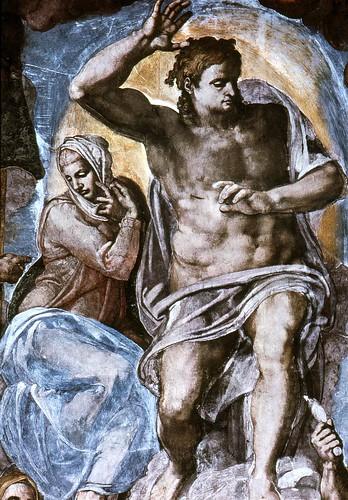 Michelangelo Sistine Chapel Last Judgment. Sistine Chapel.Last judgement.