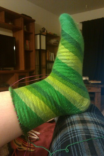 Concentric sock