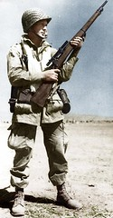 U.S. Army Airborne sniper in north africa ww2 (Za Rodinu) Tags: world 2 man men history vintage soldier war gun russia military rifle rifles front german weapon ww2 soldiers historical guns 1942 1945 rare troops 1944 1943