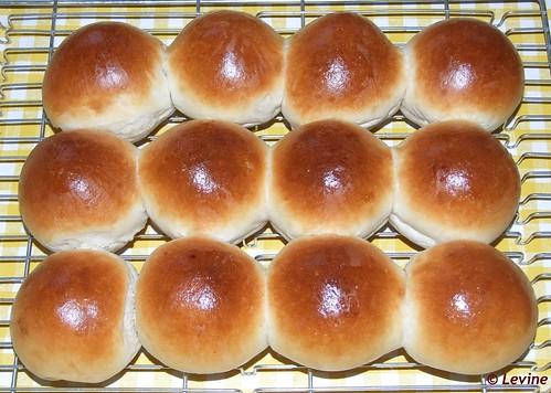 Witte broodjes Tang Zhong methode