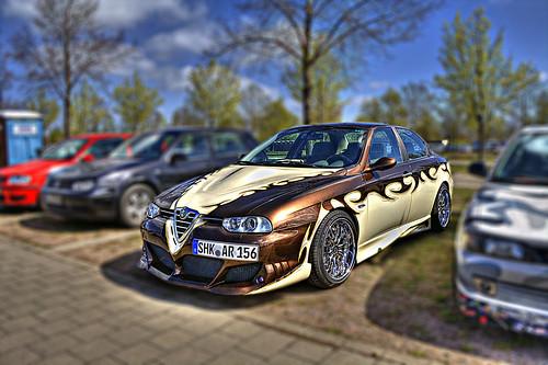 Alfa Romeo 156 Tuning Styling. Alfa Romeo 156 Tuning Car