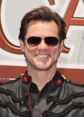Jim Carrey aviator fashion sunglasses