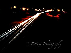 Late night traffic (BRust_Photography@yahoo) Tags: traffic memphistn nighttraffic downtownmemphis
