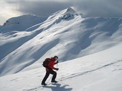 Breidtinden (alun w) Tags: snow mountains norway norge lofoten breidtinden toppturing torskmannen