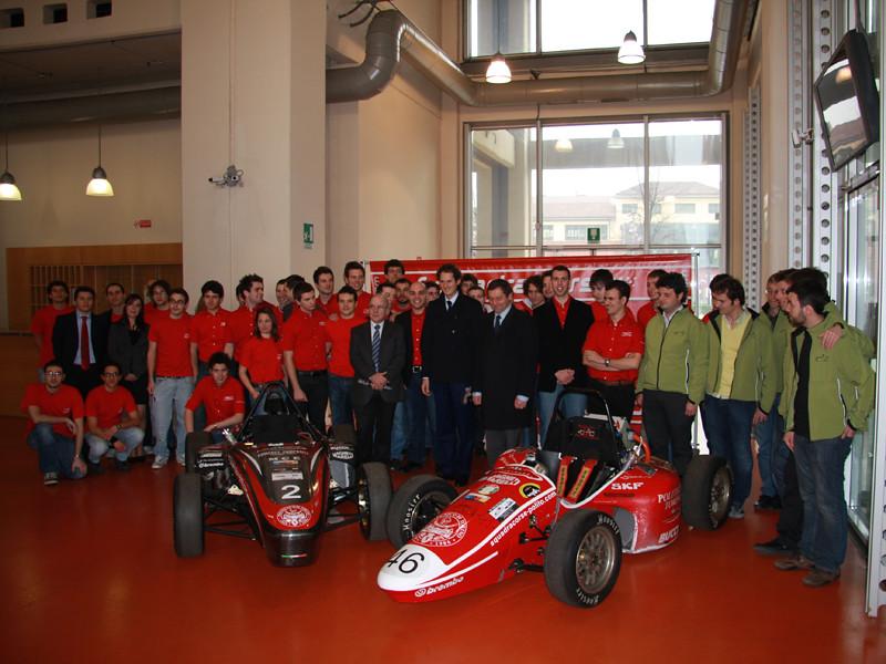 With Turin Polytechnic's Squadra Corse