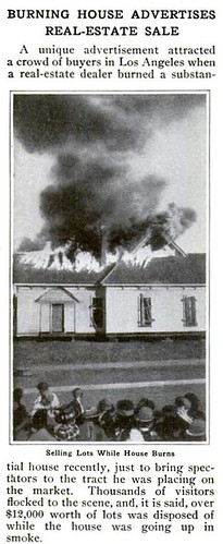 Burning House Pop Mech Mar 1914