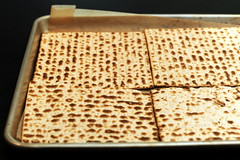 sheets of matzo