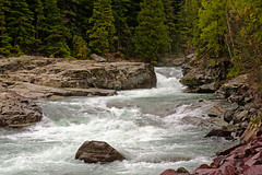 McDonald Creek (bhophotos) Tags: trip travel trees vacation usa nature water river landscape geotagged nikon montana rocks rapids glacier glaciernationalpark nikkor gnp mcdonaldcreek 80200mmf28dnew d700 bruceoakley