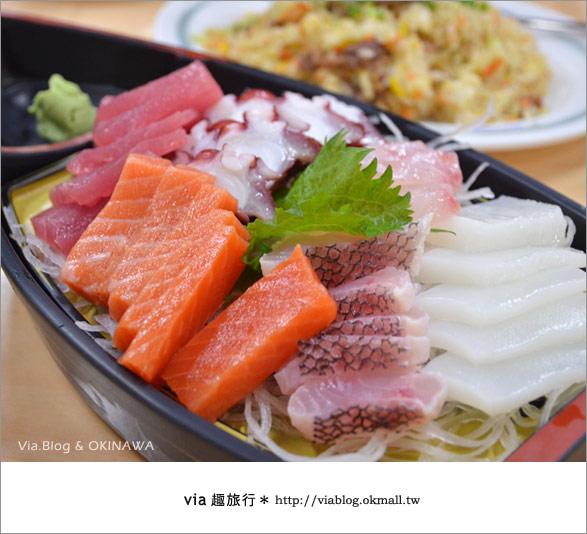 【沖繩必買】跟via到沖繩國際通+牧志公設市場血拼、吃美食!26