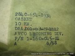 1-160-045-01_5 (Dakota Air Parts) Tags: gasket dakotaairparts wwwdakotaairpartscom cage99193 manufacturerhoneywellinternationalincdbahoneywelldivaerospacephoenix altpn116004501 nsn5330006548934 partnumber116004501 rawpn116004501 manufacturerhoneywellinternationalincdbahoneywelldivaer