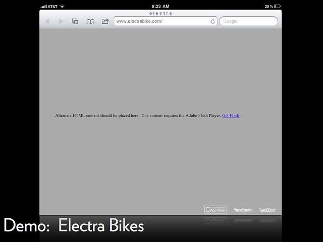 Slide 26: Electra Bikes