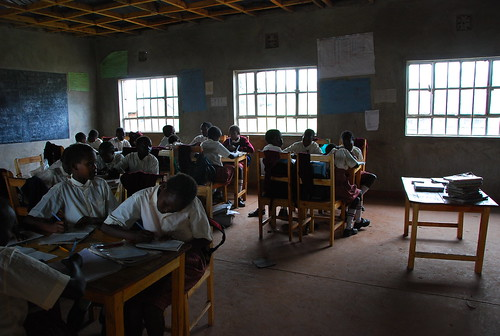 In the classroom - Kakenya Centre for Excellence