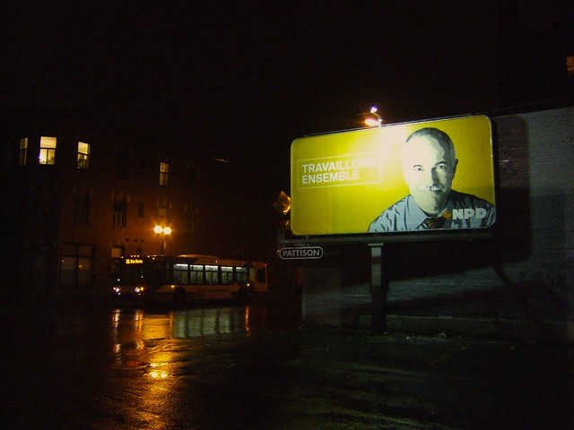 NDP billboard
