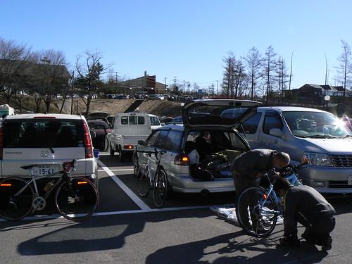 停めたのは第3駐車場