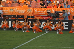 MLS Cheerleaders: The Houston Dynamo Girls 2011
