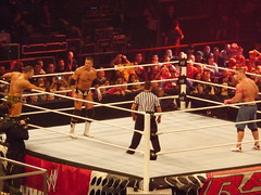 Miz & Alex Riley vs John Cena & Sin Cara