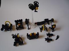Assorted Packs (joermurphy) Tags: lego mecha mech hardsuit