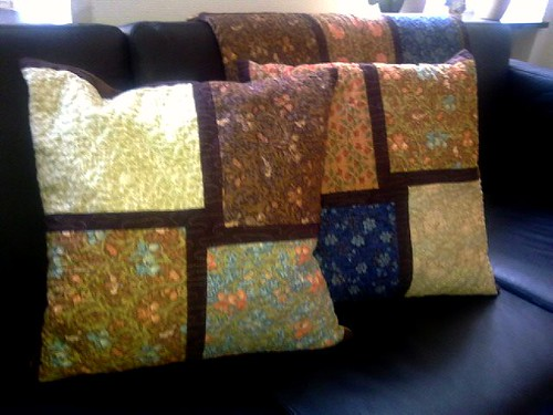 Morris Workshop Pillows