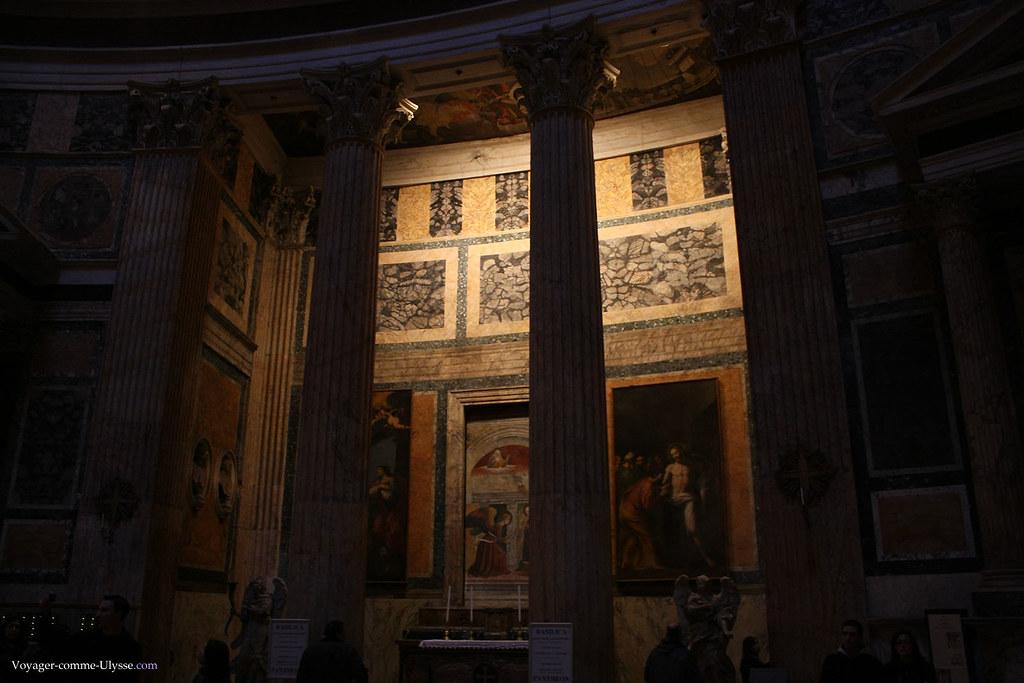 Le Panthéon, convertit en église