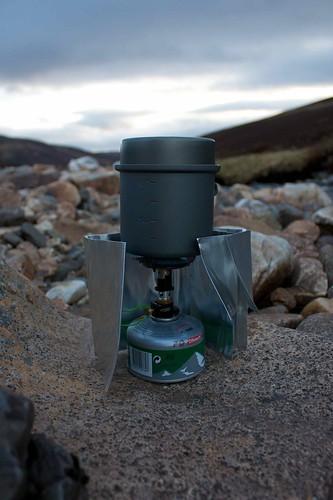 Optimus Crux Stove and Titantium Pot