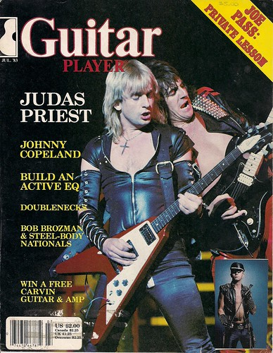July 1983 Guitar World Cover (Judas Priest)
