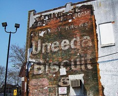 Uneeda Biscuit (BACKYard Woods Explorer) Tags: southjersey poolroom uneedabiscuit vineland nabisco cigarstore paintedbillboards bloggedonpbr