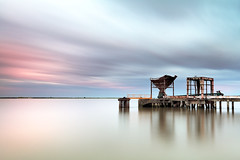 Easter Colors (CResende) Tags: longexposure motion portugal colors clouds reflections river easter tejo peer mkii 5d2 cresende gettyimagesiberiaq2
