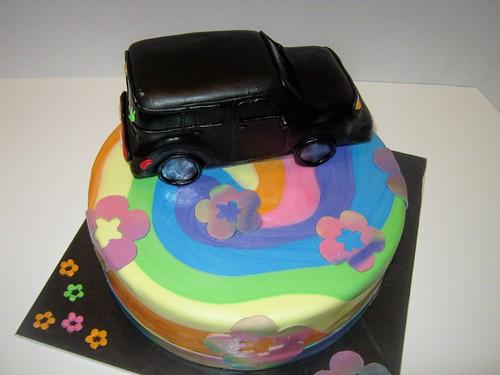 Tie Dye Cake by Cake Maniac