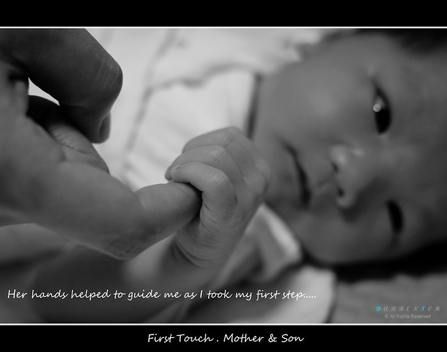 First Touch . Mother & Son