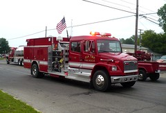 Elk 11-2 (railnut19) Tags: mi state michigan elk association sandusky pumper firemans freightliner twp
