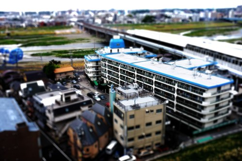 X100 > Eey-fi > iPad > PSExpress >TiltShift App