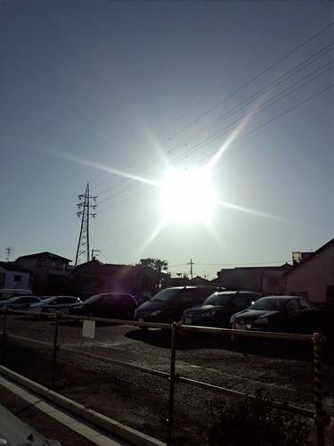 快晴な朝。走るぜ!