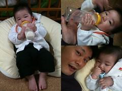 2011/4/21のとらちゃん(と、おとうさん)