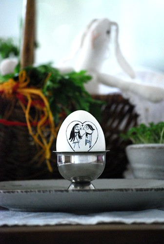 Easter egg with Nitinha by good mood factory